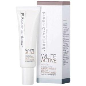 کرم سفید کننده و ضد لک ژاک آندرل ( WHITE ACTIVE )