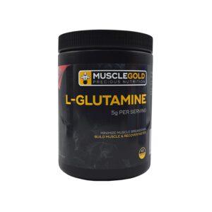 پودر ال-گلوتامین ماسل گلد ( 300 گرمی )