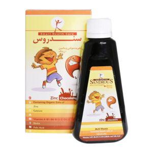 شربت مولتی ویتامین + زینک سندروس