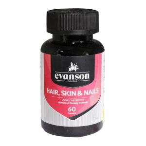 کپسول تقویت کننده مو، ناخن و پوست ایوانسون ( 60 عددی )