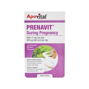 قرص و کپسول دوران بارداری پرناویت آپوویتال ( 45 عددی )