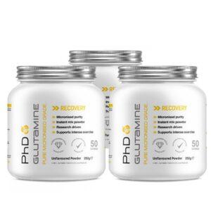 پودر GLUTAMINE پی اچ دی ( 250 گرمی )