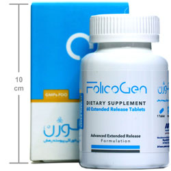 قرص مکمل غذایی فولیکوژن ( 60 عددی )