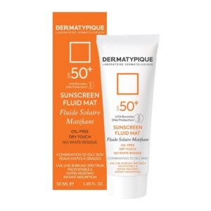 کرم ضد افتاب مناسب پوست چرب SPF50 درماتیپیک ( بیرنگ )