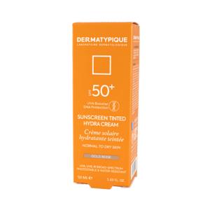 کرم ضدآفتاب SPF50 پوست خشک درماتیپیک ( بژ طلایی )